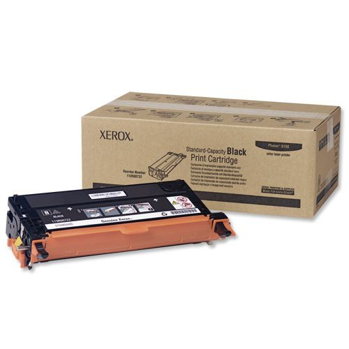 Xerox Phaser 6180 Laser Toner Cartridge Page Life 3000pp Black Ref 113R00722