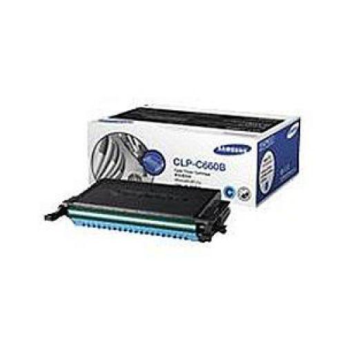 Samsung CLP-C660B Laser Toner Cartridge High Yield Page Life 5000pp Cyan Ref ST885A