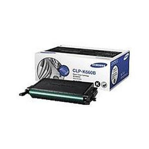 Samsung CLP-K660B Laser Toner Cartridge High Yield Page Life 5000pp Black Ref ST906A