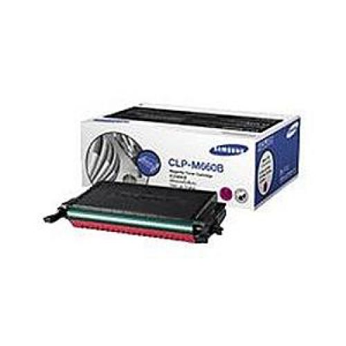 Samsung CLP-M660B Laser Toner Cartridge High Yield Page Life 5000pp Magenta Ref ST924A