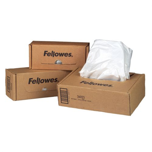 Fellowes Shredder Bags Capacity 23-28 Litre [for SB-87Cs Series] Ref 36052 [Pack 100]
