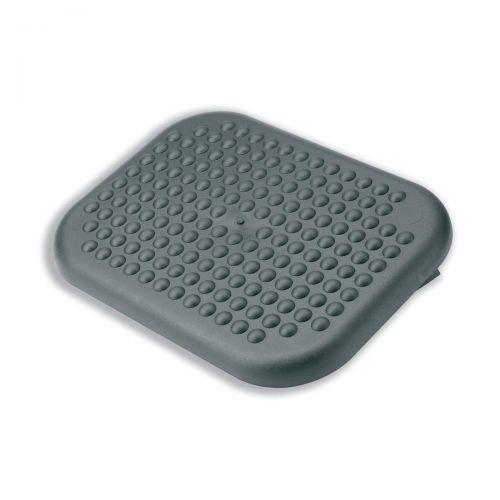 Footrest Comfort Adjustable Charcoal Ref CCS 23752