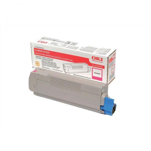 Oki C5800/C5900 Magenta Toner Cartridge