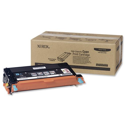 Xerox Laser Toner Cartridge High Yield Page Life 6000pp Cyan Ref 113R00723