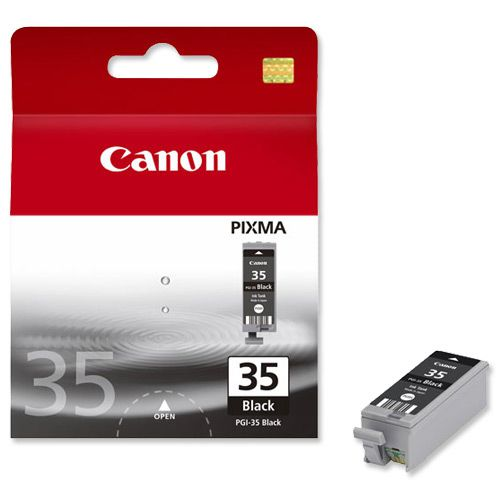 Canon PGI-35 Inkjet Cartridge Page Life 191pp 9.3ml Black Ref 1509B001