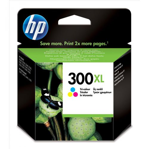 Hewlett Packard [HP] No.300XL Inkjet Cartridge High Yield Page Life 440pp 11ml Tri-Colour Ref CC644EE