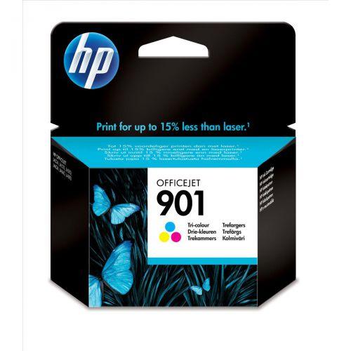 Hewlett Packard [HP] 901 Inkjet Cartridge High Yield Page Life 360pp 9ml Tri-Colour Ref CC656AE