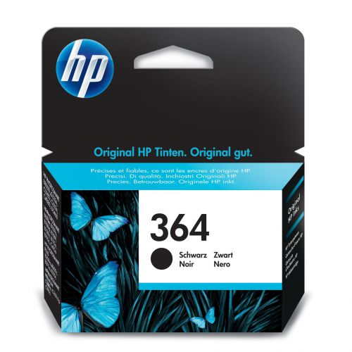 Hewlett Packard [HP] No.364 Inkjet Cartridge Page Life 250pp 6ml Black Ref CB316EE