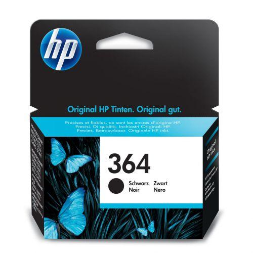 Hewlett Packard [HP] No.364 Inkjet Cartridge Page Life 250pp 6ml Black Ref CB316EE