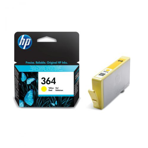 Hewlett Packard [HP]No.364 Inkjet Cartridge Page Life 300pp 3ml Yellow Ref CB320EE