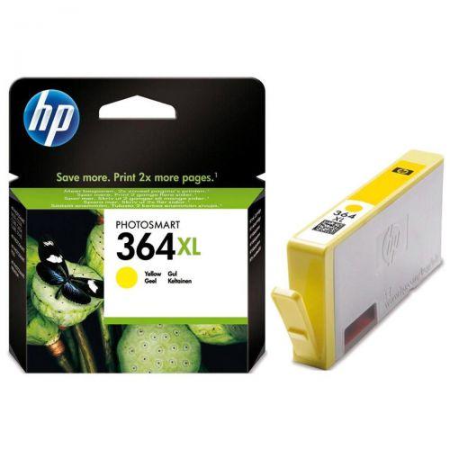 Hewlett Packard [HP] No.364XL Inkjet Cartridge High Yield Page Life 750pp 6ml Yellow Ref CB325EE