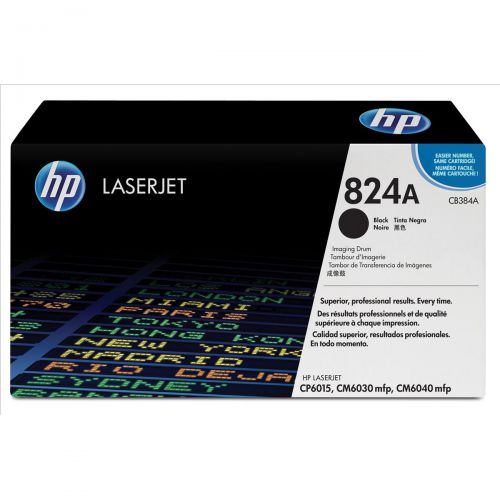 Hewlett Packard [HP] No. 824A Laser Drum Unit Page Life 35000pp Black Ref CB384A
