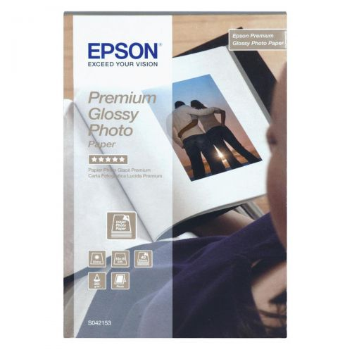 Epson Photo Paper Premium Glossy 255gsm 100x150mm Ref C13S042153 [40 Sheets]