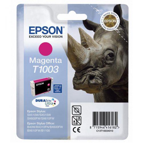 Epson T1003 Inkjet Cartridge Rhino 635pp 11.1ml Magenta Ref C13T10034010
