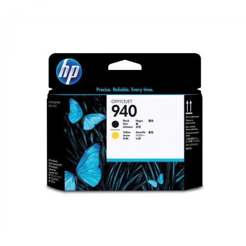 Hewlett Packard [HP] No.940 Inkjet Printhead Black and Yellow Ref C4900A