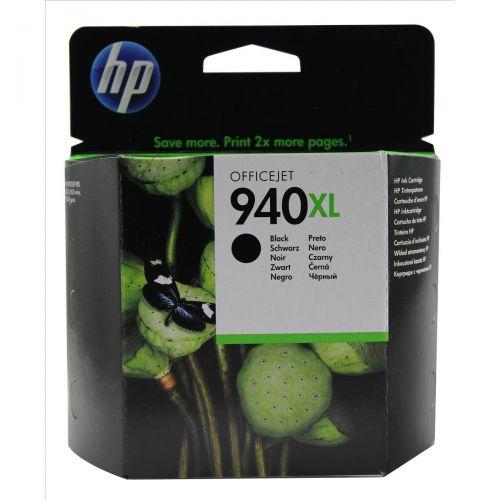 Hewlett Packard [HP] No.940XL Officejet Inkjet Cart High Yield Page Life 2200pp 49ml Black Ref C4906AE