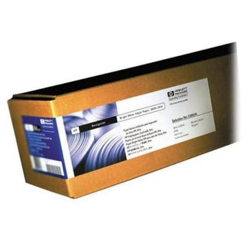 Hewlett Packard [HP] Bright White Inkjet Paper Roll 90gsm 841mm x 45.7m White Ref Q1444A