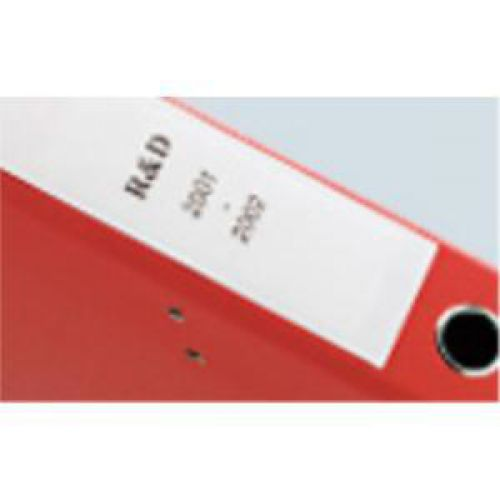 Dymo LabelWriter Labels Lever Arch File Large 60x190mm White Ref 99019  S0722480 [Pack 110]