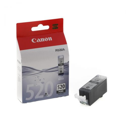 Canon PGI-520BK Inkjet Cartridge Page Life 350pp 19ml Black Ref 2932B001