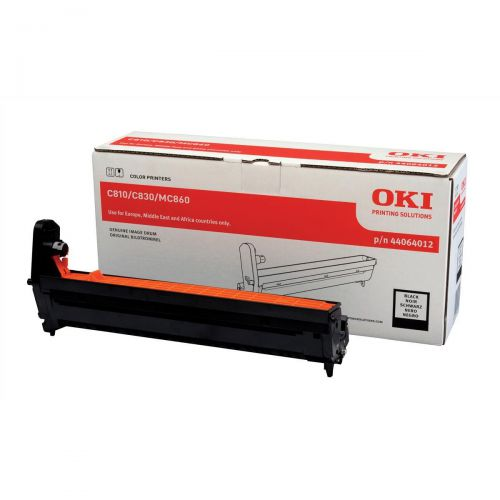 OKI Laser Drum Unit Page Life 20000pp Black Ref 44064012
