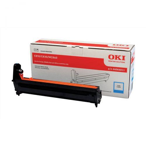 OKI Laser Drum Unit Page Life 20000pp Cyan Ref 44064011