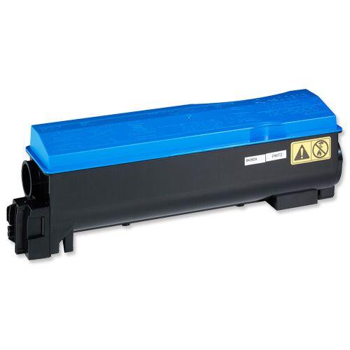 Kyocera TK-560C Laser Toner Cartridge Page Life 10000pp Cyan Ref 1T02HNCEU0