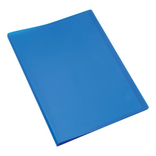 5 Star Office Display Book Soft Cover Lightweight Polypropylene 40 Pockets A4 Blue