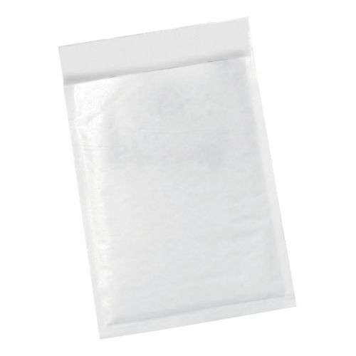 5 Star Office Bubble Lined Bags Peel & Seal No.1 170x245mm White [Pack 100]
