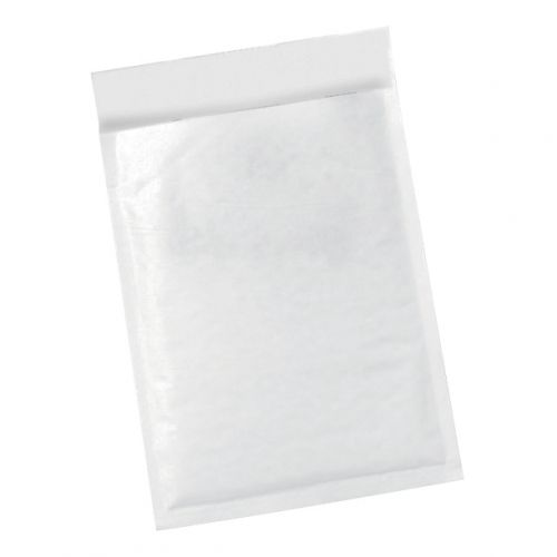 5 Star Office Bubble Lined Bags Peel & Seal No.4 240 x 320mm White [Pack 50]