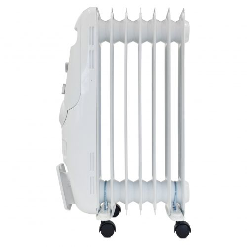 Igenix 1.5kW Oil Filled Radiator White Ref IG1650