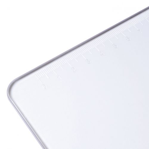 5 Star Office Clipboard Solid Plastic Durable with Rounded Corners A4 Clear