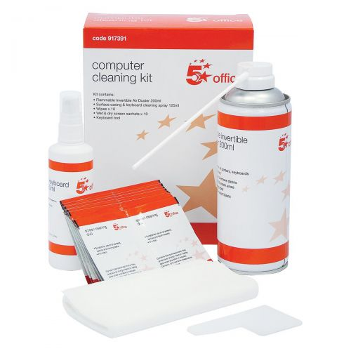 5 Star Office Home and Office Computer Cleaning Kit