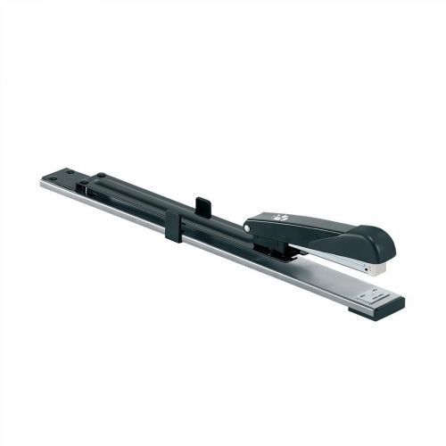 5 Star Office Stapler Long Arm Full Strip 300mm Reach Capacity 20 Sheets Black