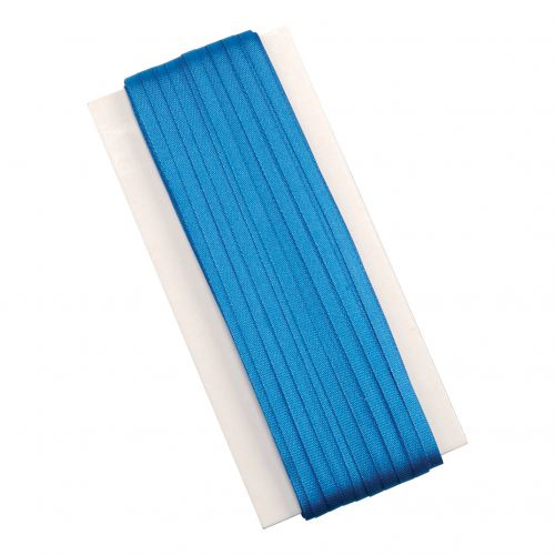 5 Star Office Legal Tape Silk Braids 6mm x 50m Blue