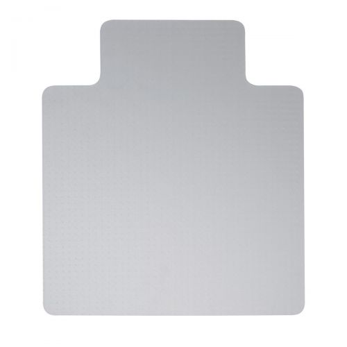 5 Star Office Chair Mat For Hard Floors PVC Lipped 1150x1340mm Clear/Transparent
