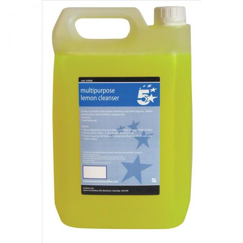 5 Star Facilities Concentrated Multipurpose Cleaner Lemon 5 Litre