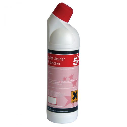 5 Star Facilities Toilet Cleaner and Descaler 1 Litre