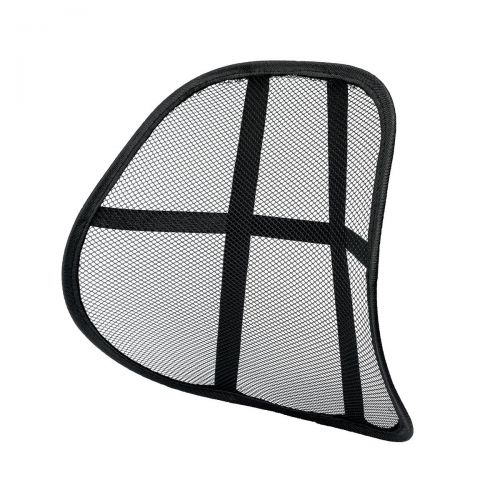 5 Star Office Mesh Back Rest Black Ref 936677