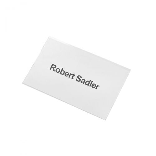 Image for 5 Star Office Name Badge with Combi-Clip PVC 54x90mm [Pack 25]