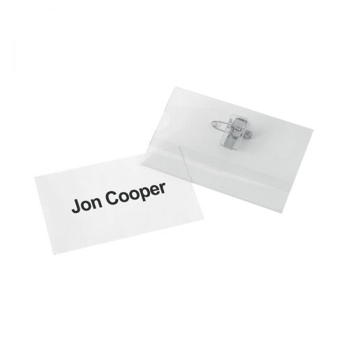 Image for 5 Star Office Badge Inserts 54x90mm 20 Sheets of 10 [200 Inserts]