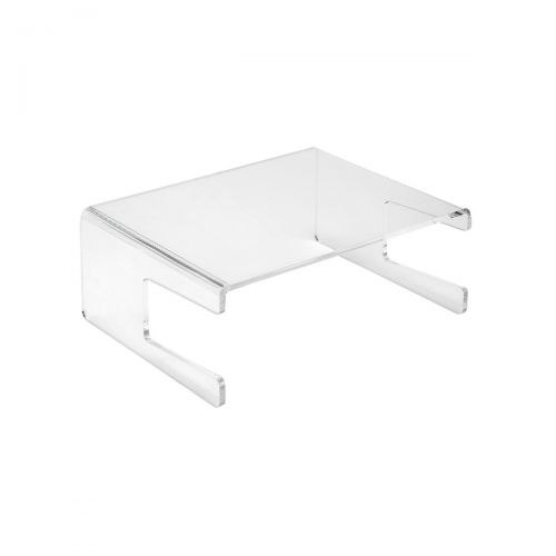 5 Star Office Monitor Stand Acrylic Capacity 21inch W300xD230xH120mm Clear
