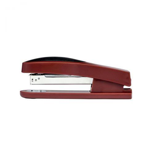 5 Star Office Stapler Full Strip Rubber Body Capacity 25 Sheets Red