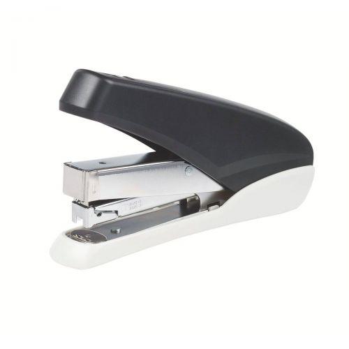 5 Star Office Power-Save Full Strip Stapler 40 Sheet Capacity Takes 26/6 Staples Black/Grey