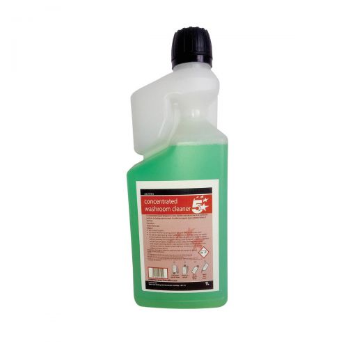 5 Star Facilities Concentrated Washroom Cleaner 1 Litre