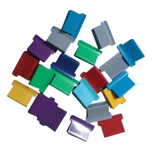 5 Star Office Ultra Clip 40 Refills Multi Coloured [Box 150]