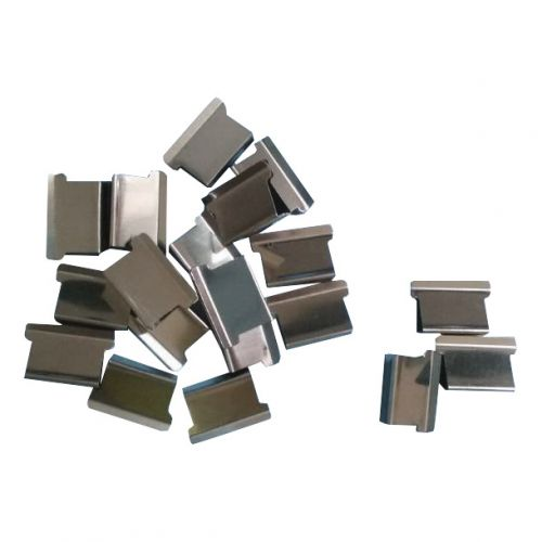 5 Star Office Ultra Clip 60 Refills Stainless Steel [Pack 100]