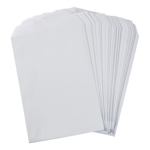 5 Star Eco Envelopes C4 Recycled Pocket Self Seal 100gsm White [Pack 250]