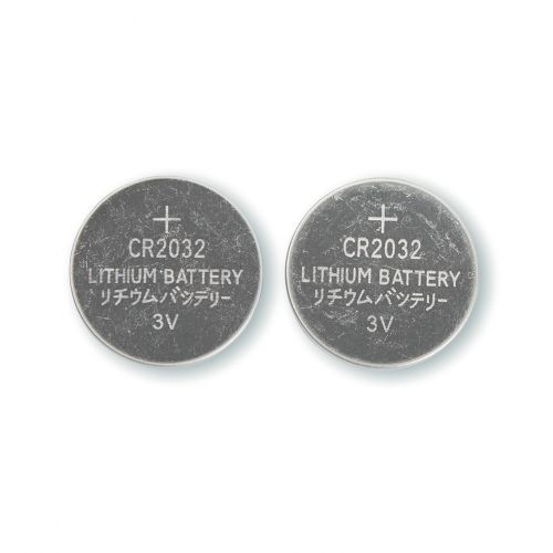 5 Star Office Batteries Lithium CR2032 [Pack 2]