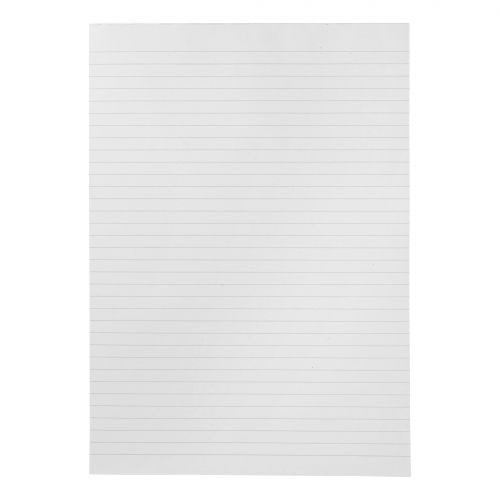 5 Star Eco Recycled Memo Pad Headbound 70gsm Ruled 160pp A4 White Paper [Pack 10]