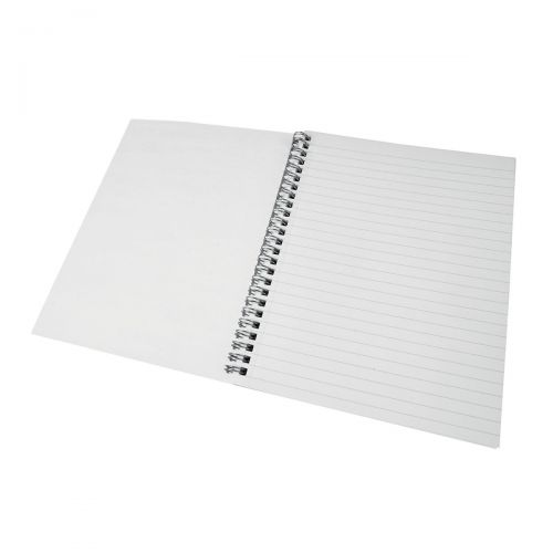 Image for 5 Star Eco Spiral Pad 70gsm Ruled and Perforated 100pp 221x175mm [Pack 10]